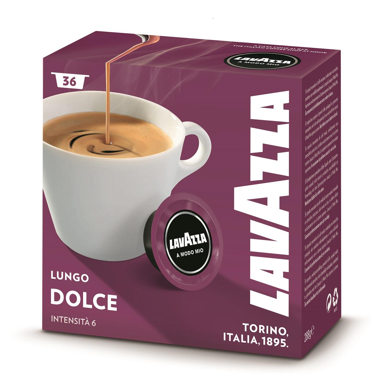 Lavazza A Modo Mio Caffè Crema Lungo Dolcemente 36 stuks