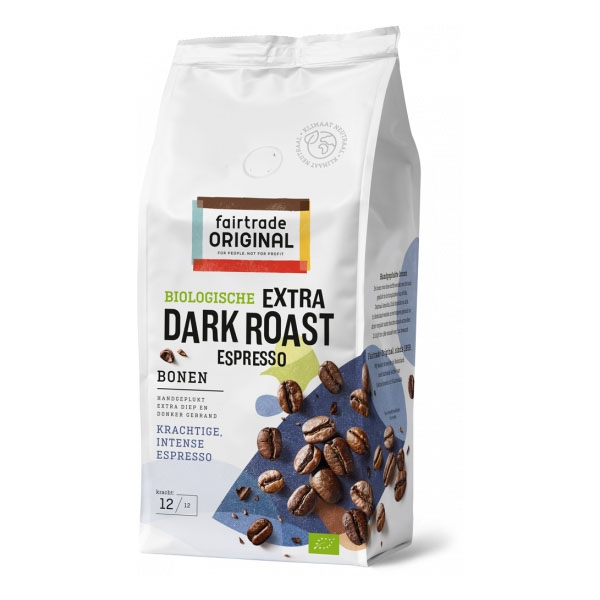 Fair Trade Original Espresso Extra Dark Roast koffiebonen