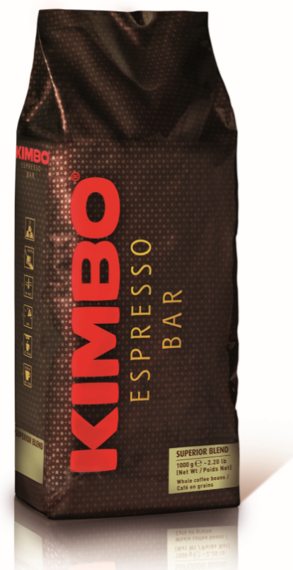 Kimbo Extra Cream bonen 1kg: Koffiebonen