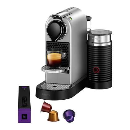 Nespresso Krups CitiZ & Milk XN761B Koffiemachine