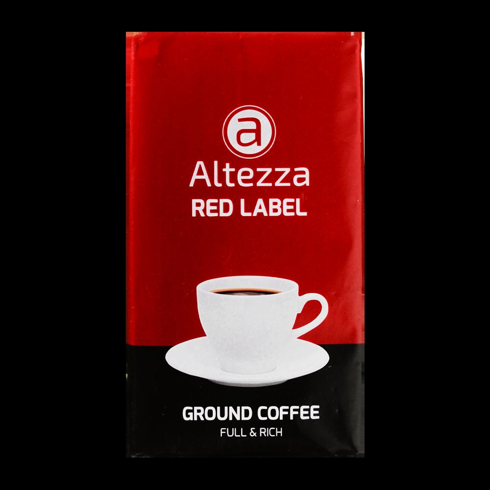 Altezza - gemalen koffie - Rood