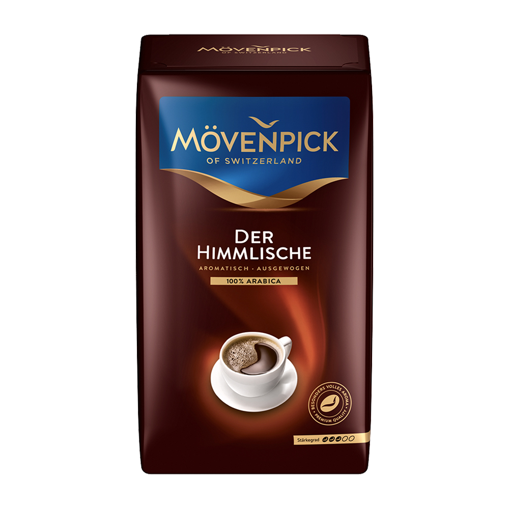 Mövenpick - gemalen koffie - Der Himmlische