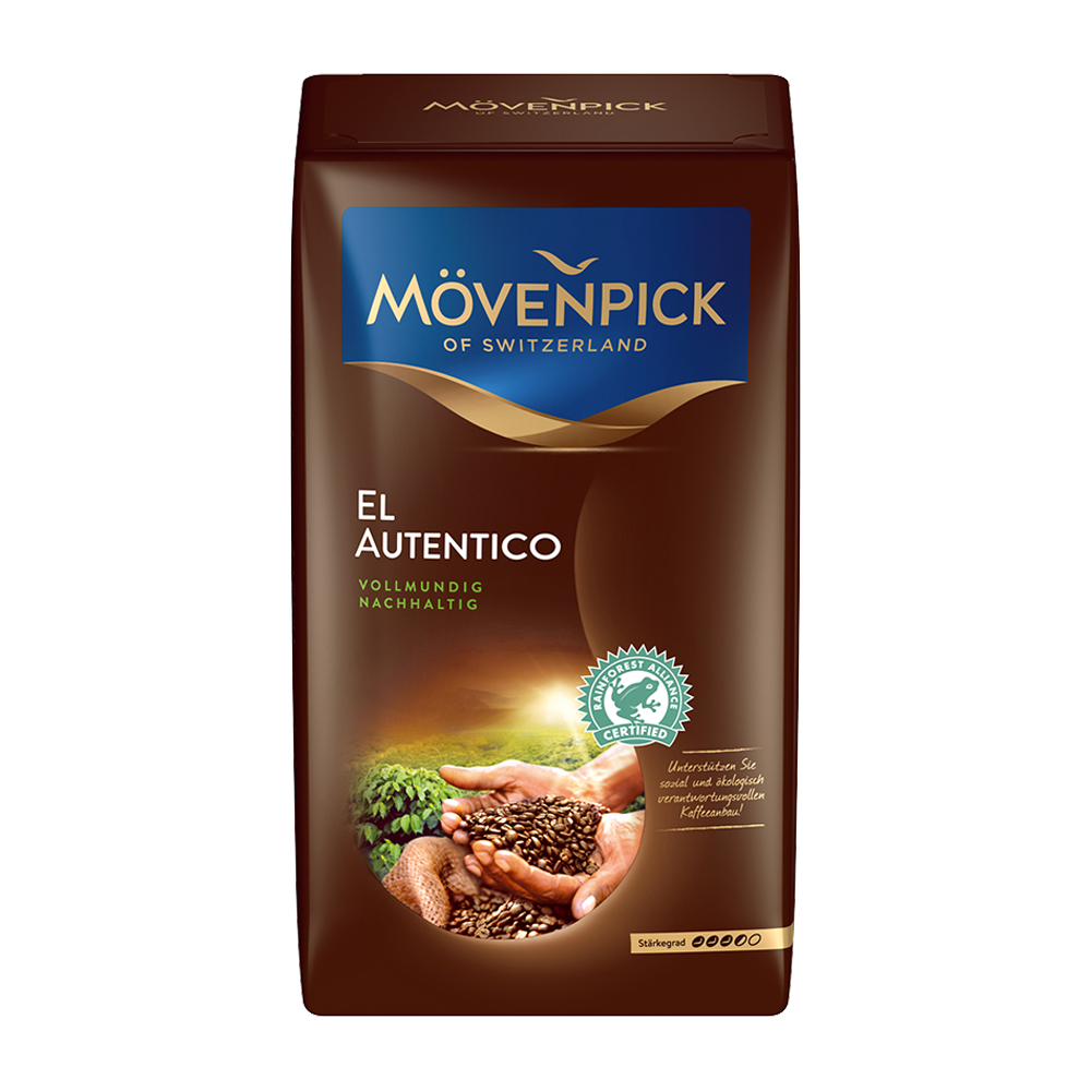 Mövenpick - gemalen koffie - El Autentico