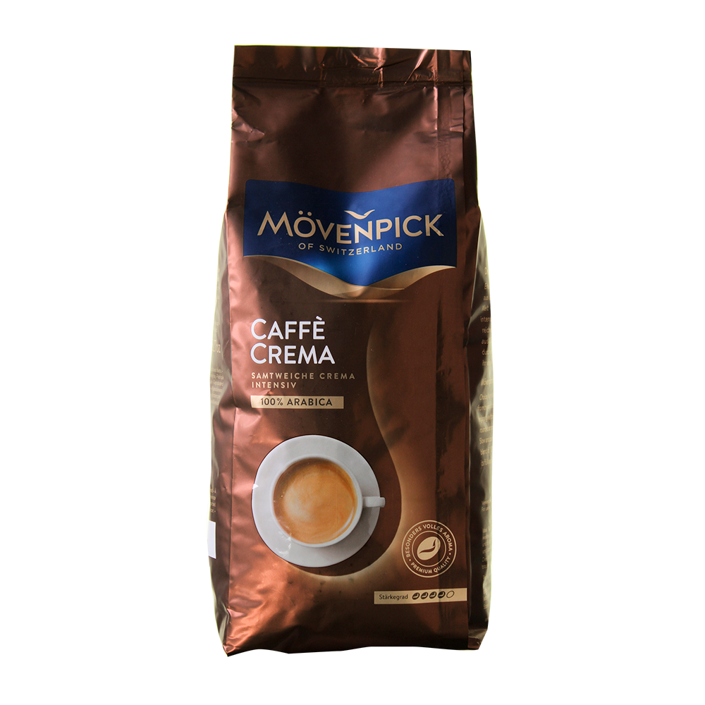 Mövenpick - koffiebonen - Caffè Crema