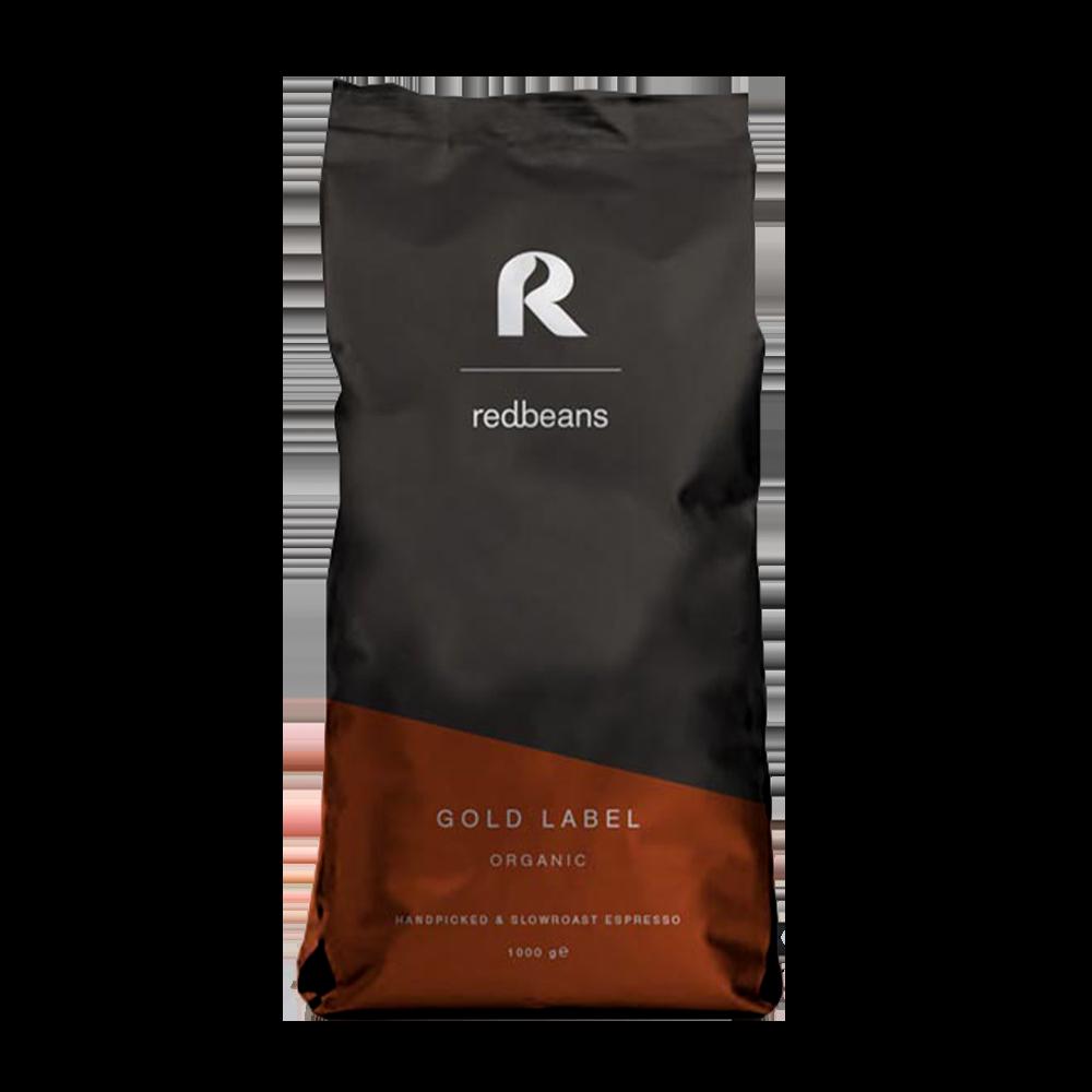 Redbeans - koffiebonen - Gold Label (Organic)