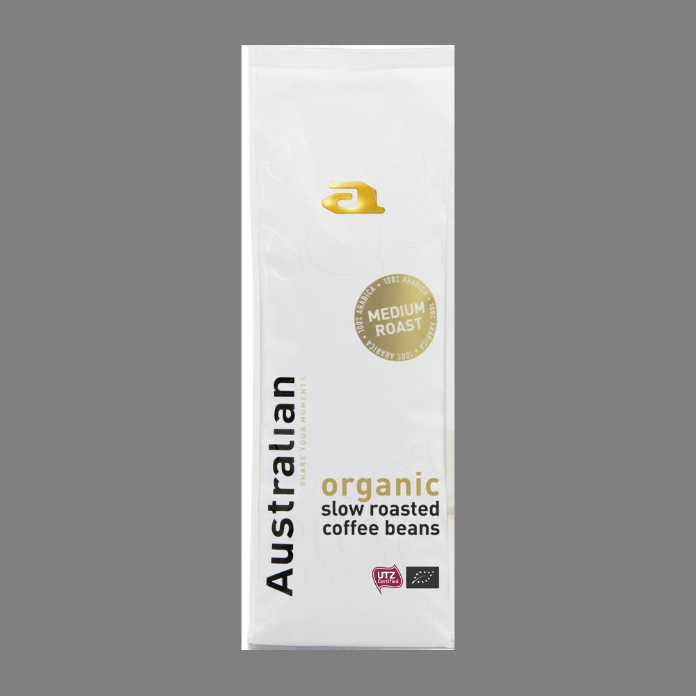Australian - koffiebonen - Medium Roast (Organic)