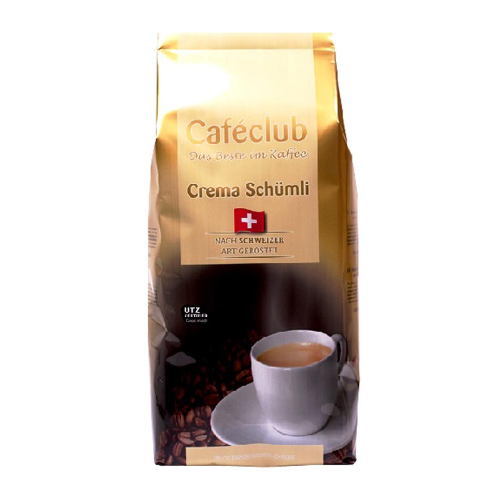 Caféclub - koffiebonen - Crema Schümli