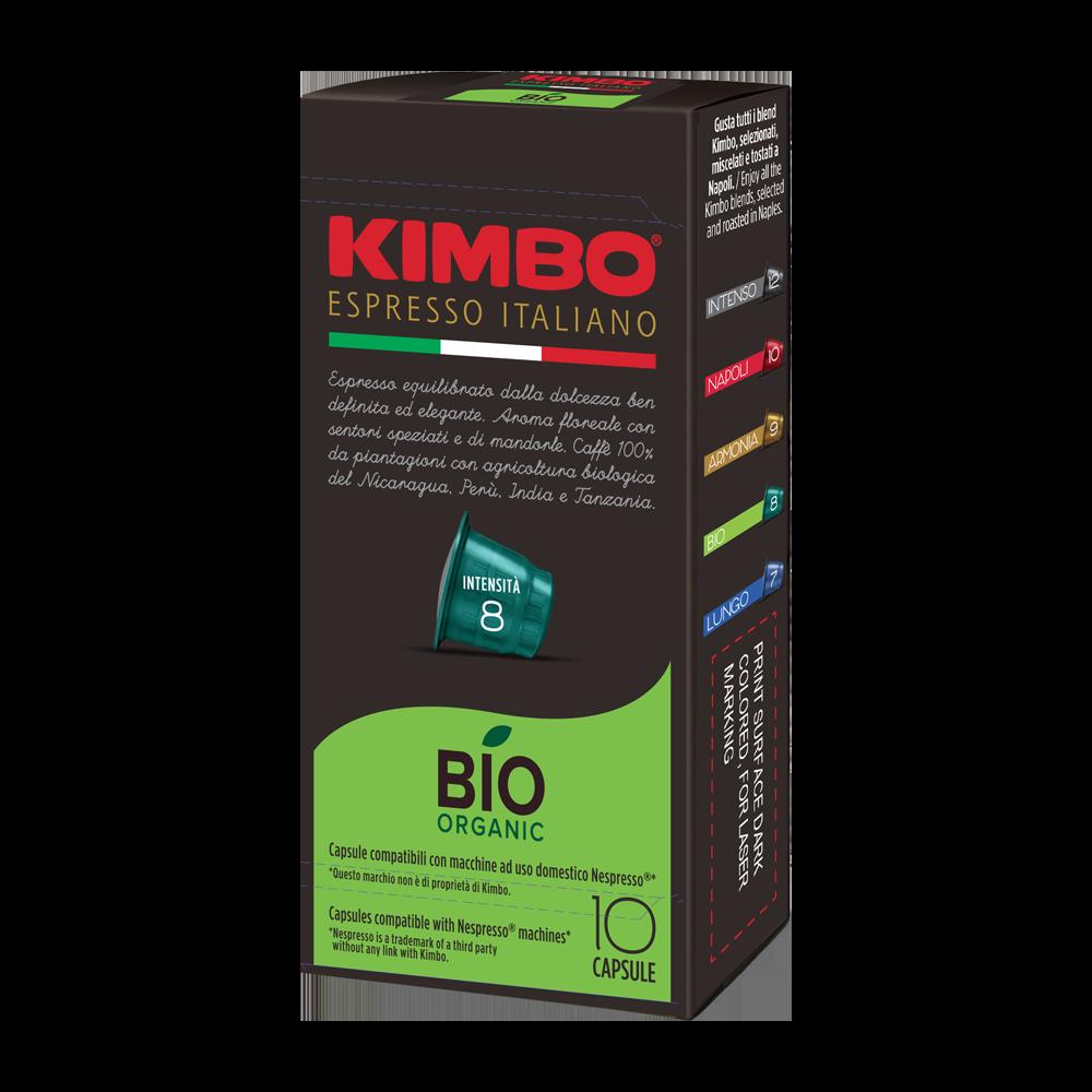 Kimbo - nespresso - BIO (Organic)