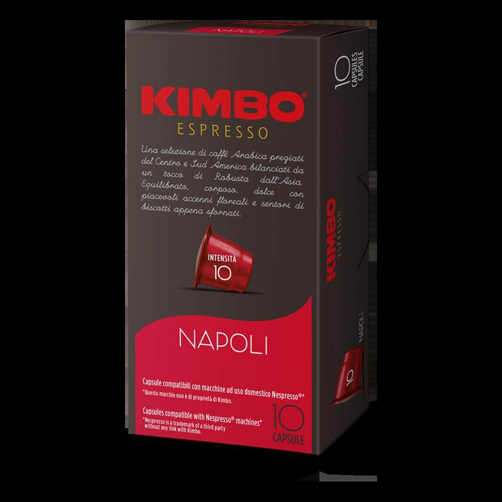 Kimbo - nespresso - Napoli Espresso