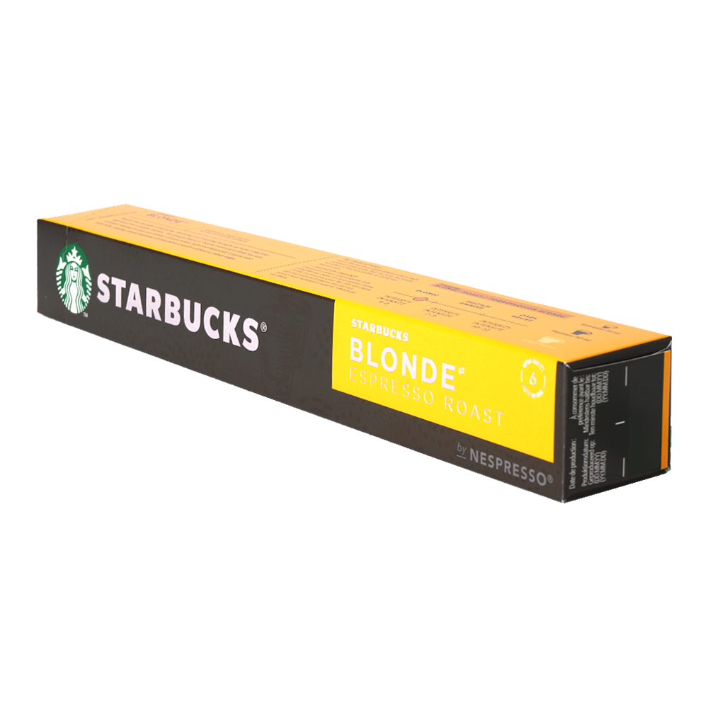 Starbucks - nespresso - Blonde