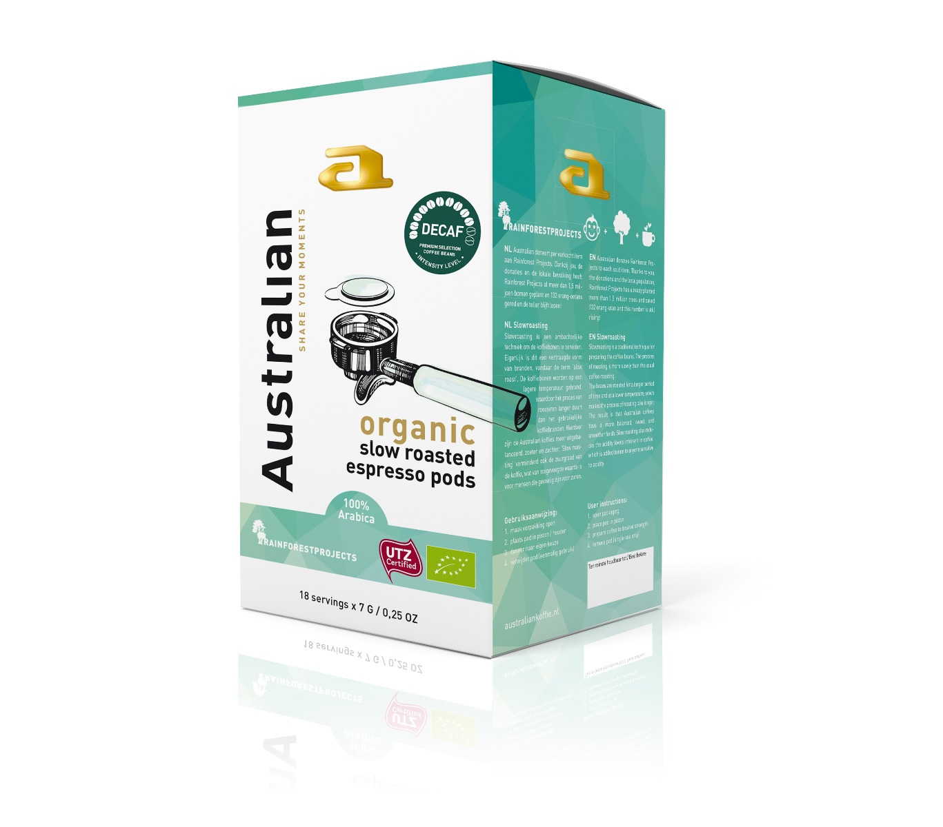 Australian - E.S.E. Servings - Decaf Roast (Organic)