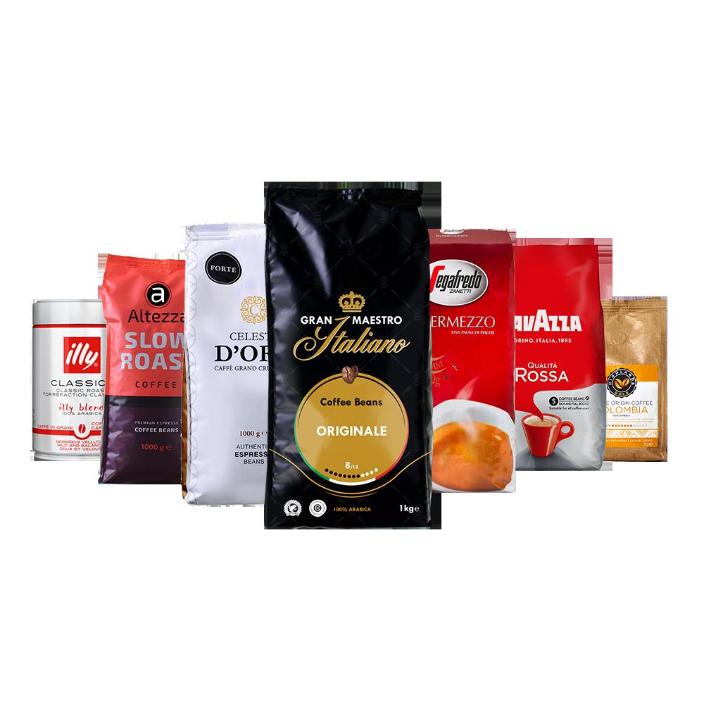 Koffiebonen proefpakket - Huisfavorieten - 5.5kg