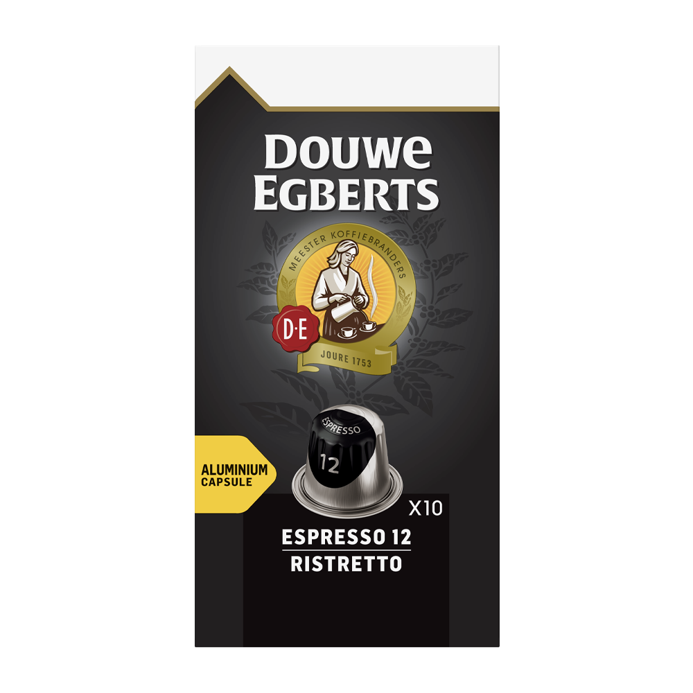 Douwe Egberts - nespresso - Espresso Ristretto