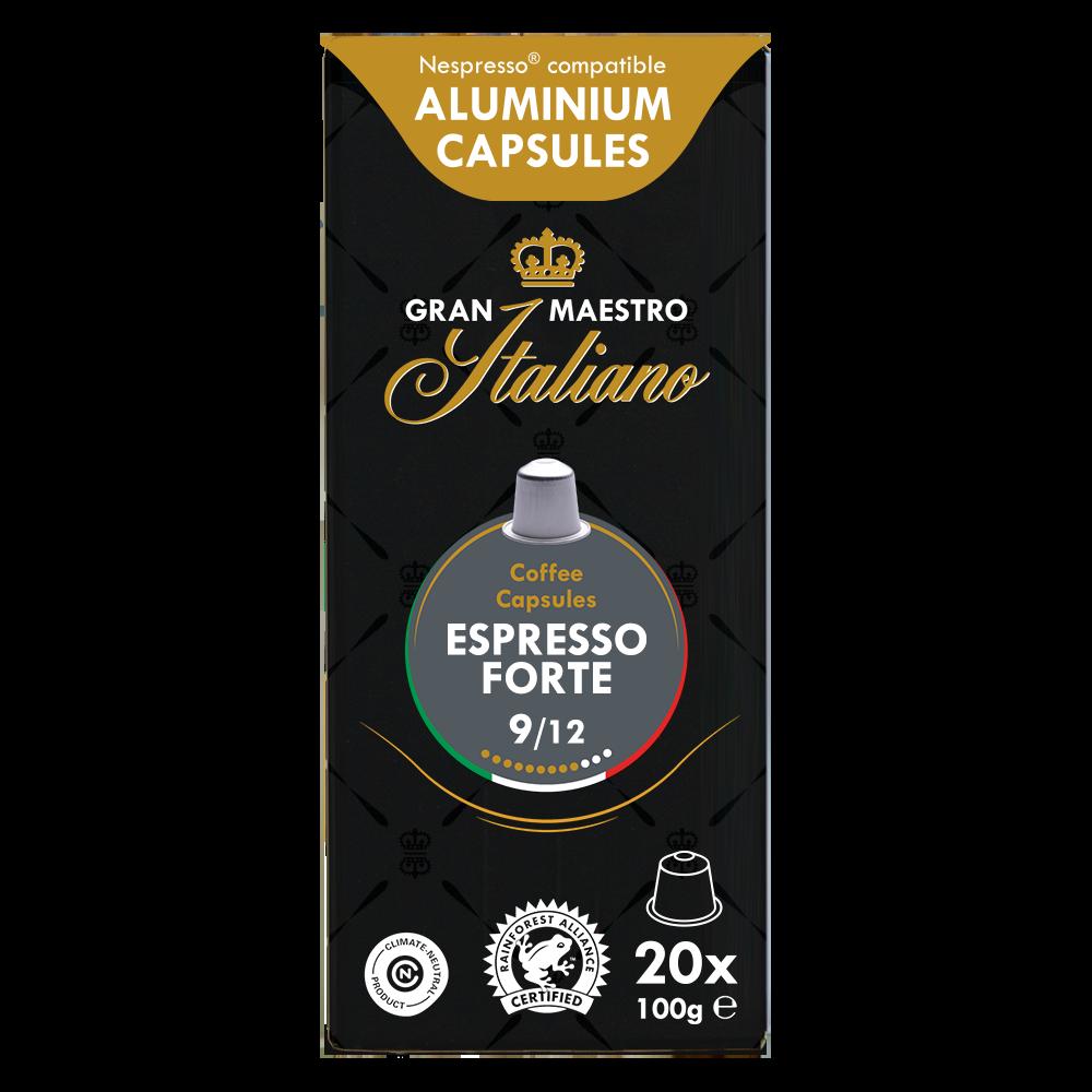 Gran Maestro Italiano - nespresso compatible- Espresso Forte