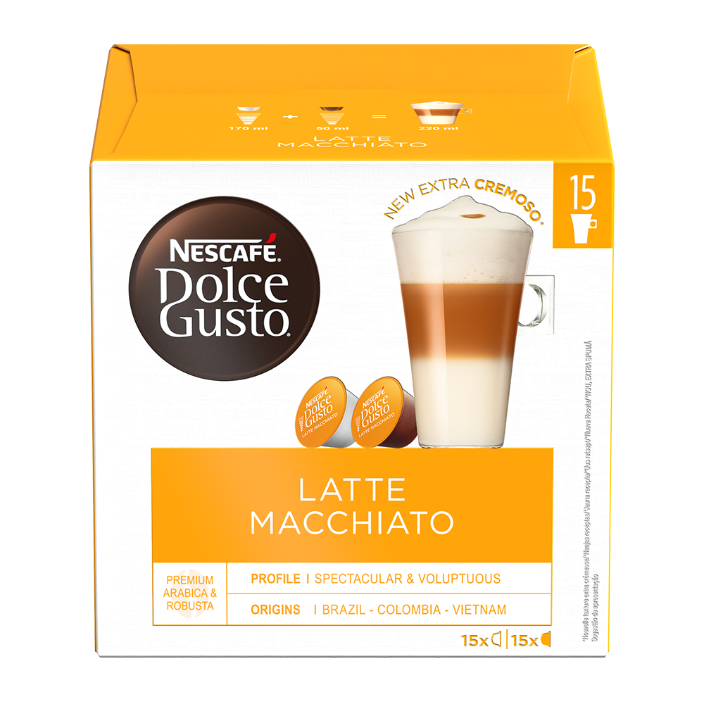 Dolce Gusto - Latte Macchiato XL