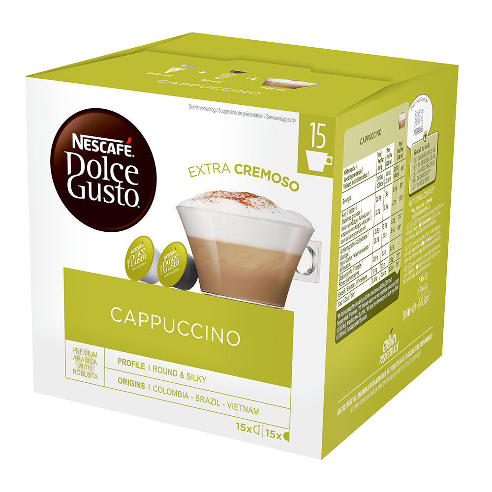 Dolce Gusto - capsules - Cappuccino XL