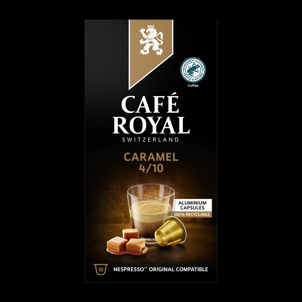 Café Royal - nespresso - Caramel