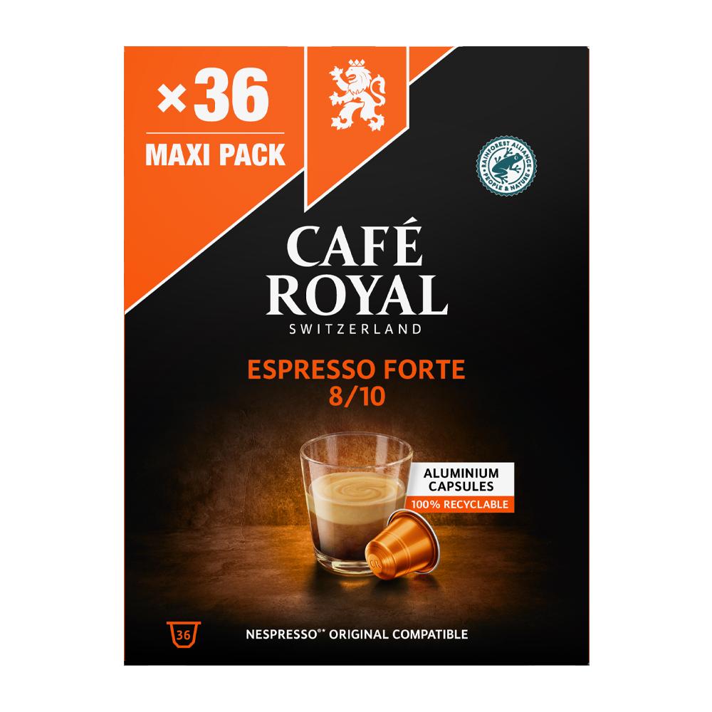 Café Royal - nespresso - Espresso Forte