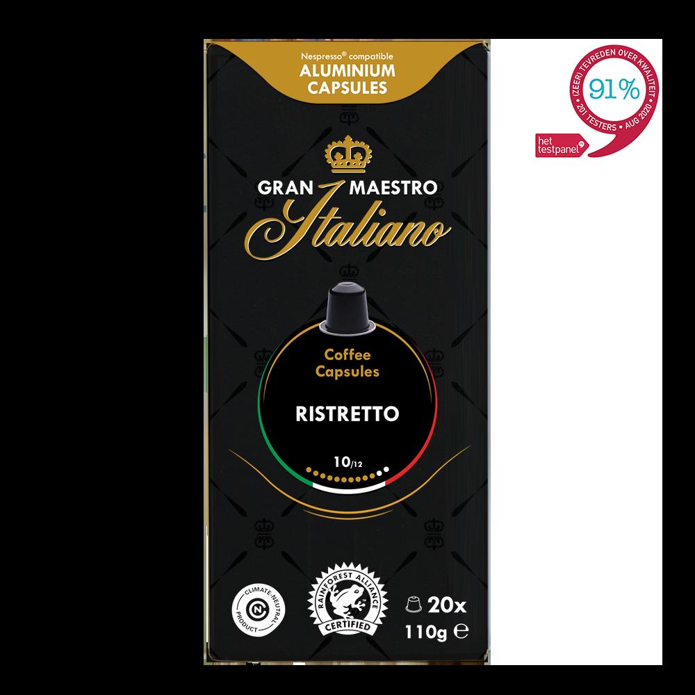 Gran Maestro Italiano - nespresso compatible - Ristretto