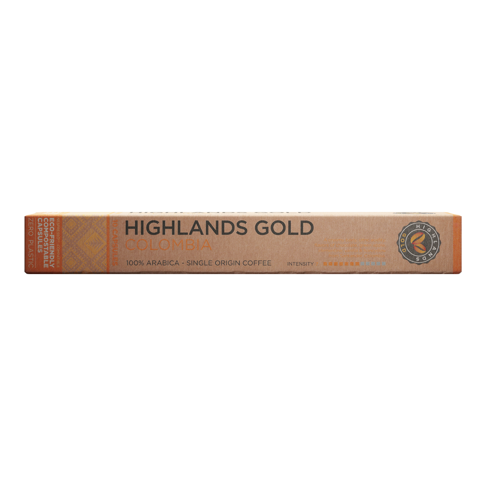 Highlands Gold - nespresso compatible - Colombia (Organic)
